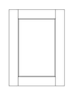 Wall Door Panel 30u2033 u2013 Lincolnton Grey  sc 1 st  Discount Kitchen Direct & Wall Cabinet Door 15