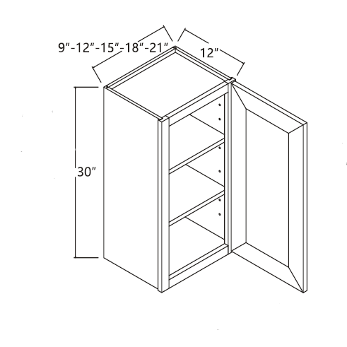 Wall Cabinet 12\